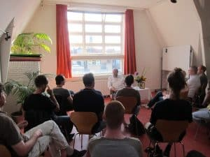 Wayne Teaching in Amsterdam