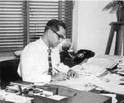 Ramesh at Desk