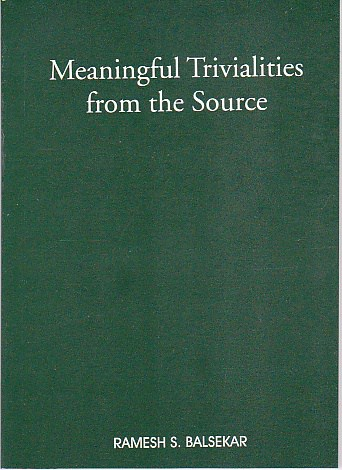 book cover image - Meaningful Trivialities From The Source 21